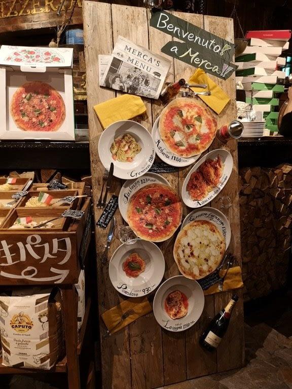 Japanese food display 2