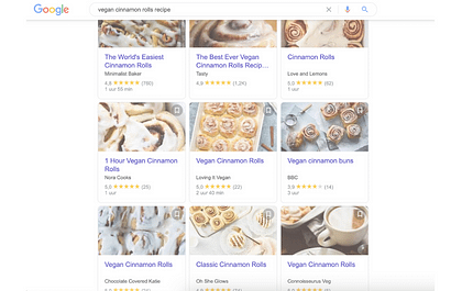 why do food blogs add many photos