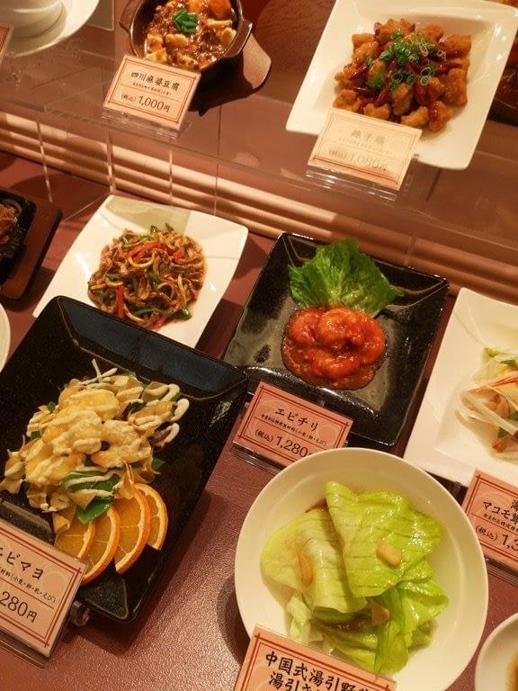 Fake food market Japan 1